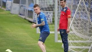 Brigadă din Rusia la partida Norvegia - România