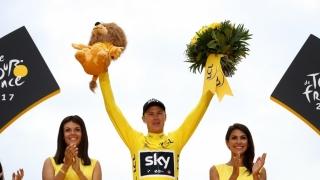 Britanicul Christopher Froome, singurul ciclist cu patru Tururi ale Franţei în palmares