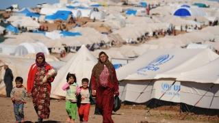 Cifrele strămutării sirienilor, cutremurătoare! 4 luni, aproape 1.000.000 de oameni!