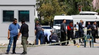 Împușcături lângă ambasada Israelului la Ankara