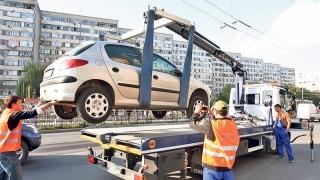Mașinile parcate neregulamentar pot fi ridicate din nou