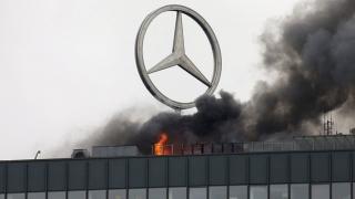 Incendiu la un centru comercial din Berlin