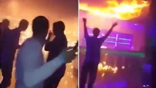 Incendiu la un club de noapte din Ucraina: 22 de răniți