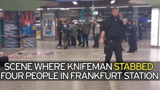Înjunghiați la Frankfurt