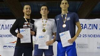 Abibula şi Grădinaru, la seniori, şi Tulea, la tineret, campioni naţionali la înot în bazin scurt