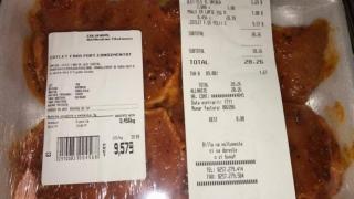 """Într-un hipermarket din România: carne """"din viitor""""!"""