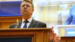 Iohannis vrea să se adreseze Parlamentului la 140 de ani de la proclamarea independenței României