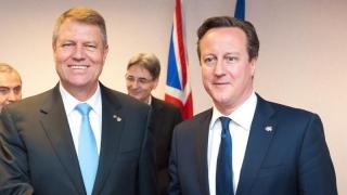 Iohannis spune că l-a asigurat Cameron, în numele Marii Britanii, că românii sunt în siguranţă