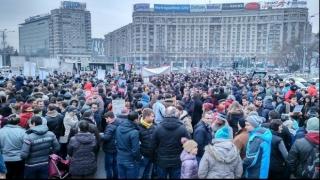 Peste 20.000 de oameni, la mitingul PNL din București