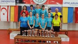 Sportivii constănţeni, de nouă ori pe podium la turneul de tenis de masă de la Lefkosa