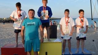 Juniorii constănțeni, printre protagoniștii Naționalelor de lupte pe plajă