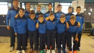 """Juniorii de la Academia Hagi debutează vineri la """"Danone Nations Cup"""""""