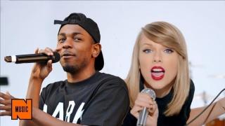 Kendrick Lamar și Taylor Swift, răsfățații galei Grammy