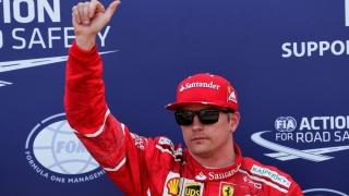 Kimi Raikkonen, cel mai rapid la Monte Carlo