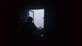 Incendiu la o clădire din curtea Spitalului de Boli Infecțioase Constanța