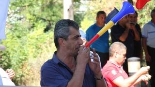 La protest, șoferii RATC s-au plâns că nu au avut timp să meargă la plajă