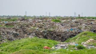 Dezastru ecologic la Limanu! Groapă de gunoi, întinsă pe 7 hectare!
