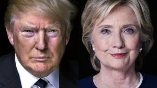 Clinton şi Trump, la egalitate în media sondajelor postdezbatere