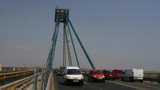 Lucrări pe podul de la Agigea încă un an de acum înainte