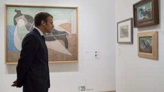 Macron vrea un Picasso în biroul său