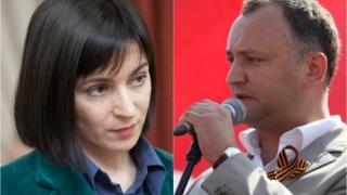 Maia Sandu vrea anularea alegerilor, Dodon ameninţă