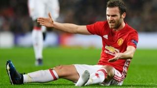 Manchester United a rămas fără Juan Mata pentru restul sezonului