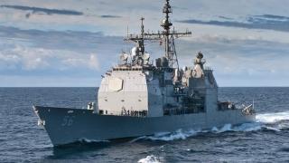 Manevre agresive ale unei fregate ruse lângă un crucișător american