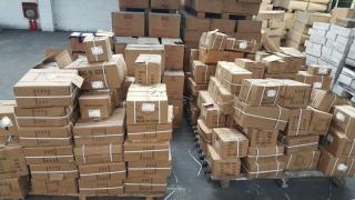 Marfă de peste 43.000 de lei, confiscată de inspectorii vamali!