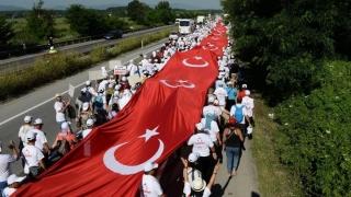 Marşul pentru Justiţie a ajuns la Istanbul! Mii de cetăţeni turci, în stradă