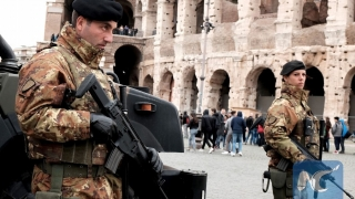 """""""Maximă securitate"""" la Colosseum"""