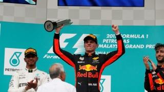 Max Verstappen, învingător în Marele Premiu al Malaeziei