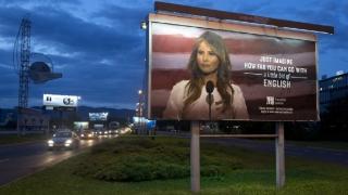 Melanie Trump, ironizată în Croația