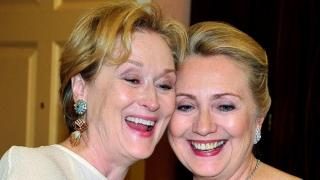 Meryl Streep crede sincer în Hillary Clinton