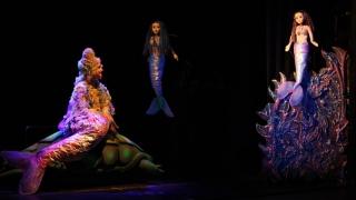 """""""Mica sirenă"""", întâmpinată cu entuziasm la Teatrul """"Căluțul de mare"""""""