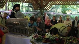 Moaștele a patru mari sfinți, aduse la o biserică din Constanța