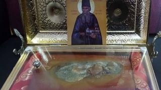 Moaștele Sf. Ioachim Vatopedinul, aduse din Atena la Constanța