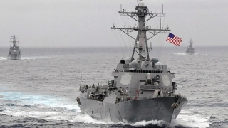 Mobilizare militară americană în Marea Chinei de Sud