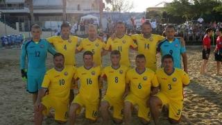 Naționala de fotbal pe plajă a câștigat ambele meciuri amicale cu Grecia