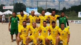 Naționala de fotbal pe plajă a României debutează în Euroliga 2016