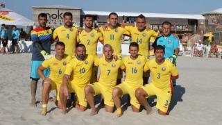 Naționala de fotbal pe plajă încearcă să se mențină în Euroliga A