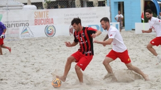 Naționala de fotbal pe plajă întâlnește Bulgaria, la Mamaia