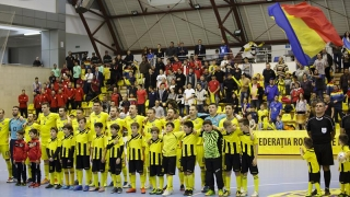 Naționala de futsal înfruntă Georgia pentru calificarea la EURO 2018