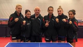 Naționala feminină de tenis de masă, în sferturi la Europene