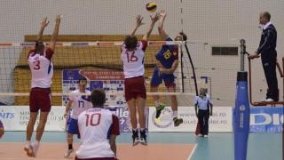 Naționalele de volei luptă pentru calificarea la Campionatul European