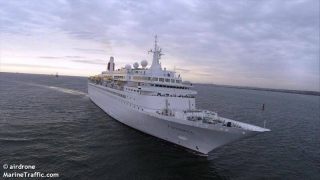 """Nava de pasageri """"Boudicca"""" revine în Portul Constanța"""
