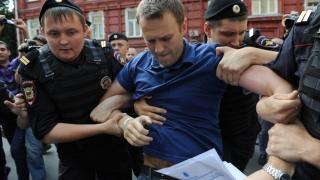Navalnîi, simbolul libertăţii şi luptei anticorupţie în Rusia, reţinut din nou!