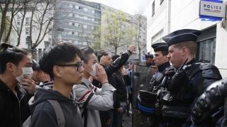 Nou protest la Paris, după ce un chinez a fost împuşcat mortal de poliţie