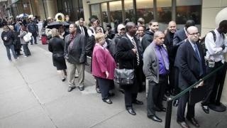 Număr-record de cereri pentru ajutor de şomaj în SUA