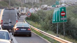 Carambol pe Autostrada Soarelui! Şapte maşini avariate!