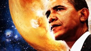 Obama crede că oamenii vor putea ajunge pe Marte în anii 2030